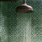 Badkamer en Portugese cementtegels