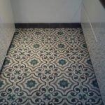 Portugese tegels keuken met Castelo cementtegels serie AGADIR 01