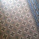 antieke kermamische tegelvloer