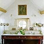 Portugese cementtegels badkamer oude