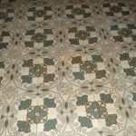 jugendstil antieke vloertegels