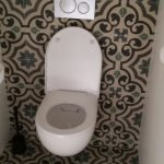 Portugese cementtegels wc