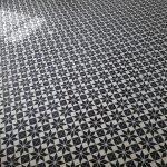 cementtegels zwart wit