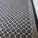 Portugese cementtegels zwart en wit