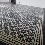 Portugese cement tegels zwart stertegels