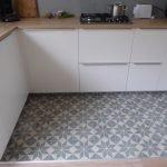 tegels Portugees astrea ster in keuken