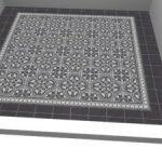 cementtegel zwart wit