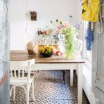 cementtegels cloverz 15x15 cm in keuken