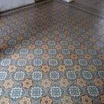 oude vloertegels keuken