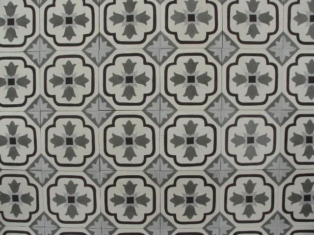 cementtegels aanbieding flowerz 9