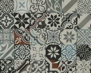 Patchwork Portugese tegels 20x20 cm