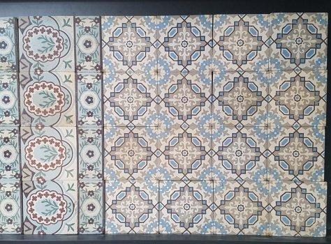 Fr11 Oude vloertegels