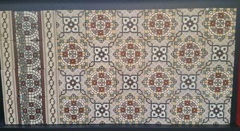 Keramische Portugese vloertegels EM03