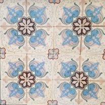 C16 Antieke Tegels