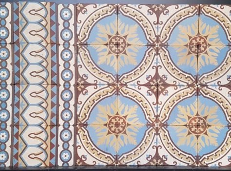 oude patroontegels antiek