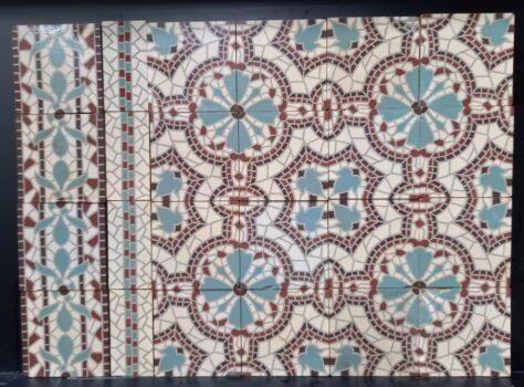 mozaiektegels antiek