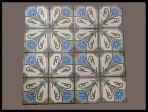 Spaanse Cementtegels serie B