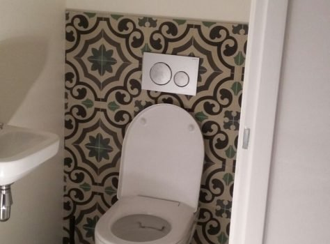 Cementtegels AGADIR 01 toilet
