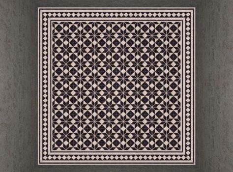 Portugese tegels astrea black met boordtegels