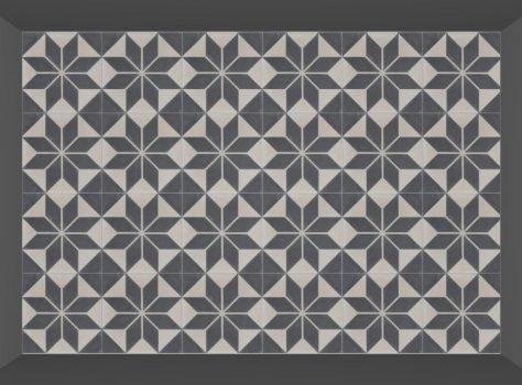 Portugese tegels astrea black totaal