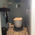 Portugese cementtegels toilet