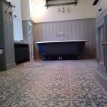 marokkaanse cementtegels fairy floss badkamer