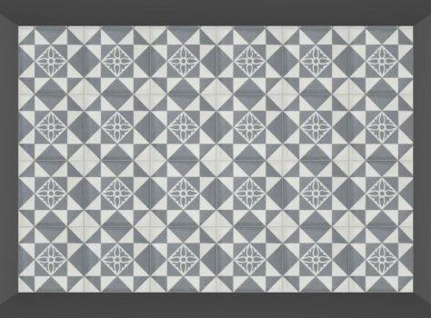 Portugese tegels geoz 02 grijs