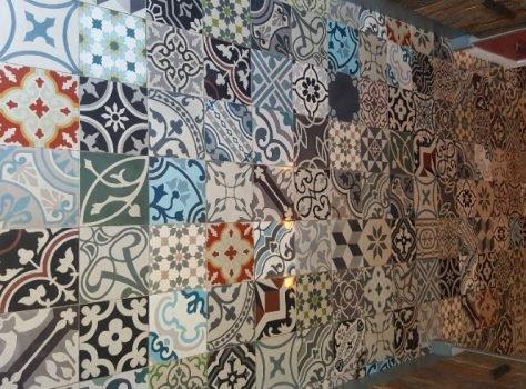 cementtegels patchwork 20x20 cm