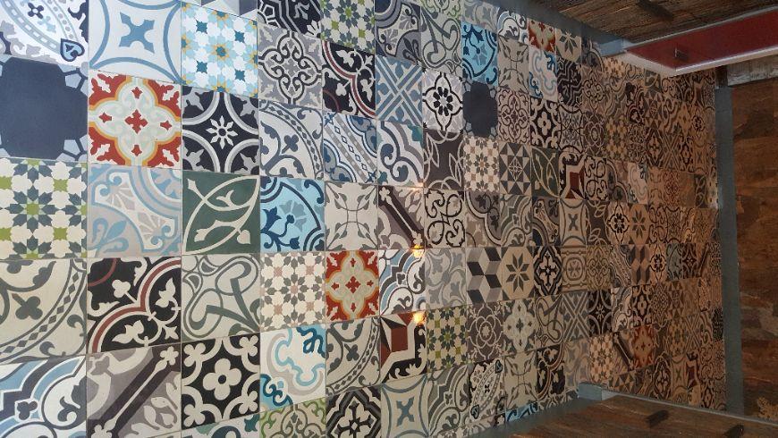 Portugese Tegels Patchwork : Portugese tegels patchwork floorz