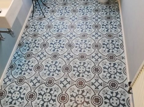 tegels Portugees badkamer