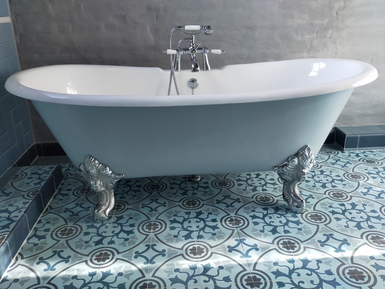 badkamertegels Portugees 20x20 cm