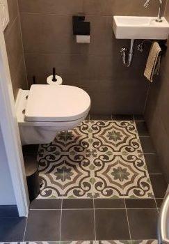 Portugese tegels toilet agadir