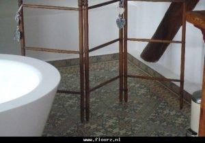 antieke vloertegels badkamer b