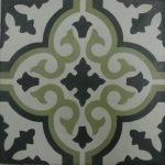 Marokkaanse tegels groen