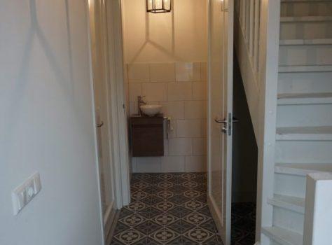Portugese tegels Bossom in hal en wc