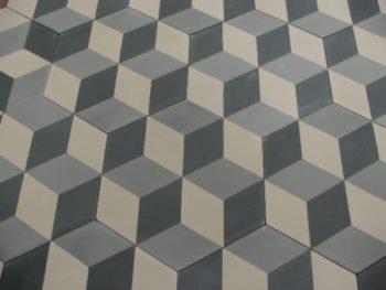 Portugese tegel hexagonaal