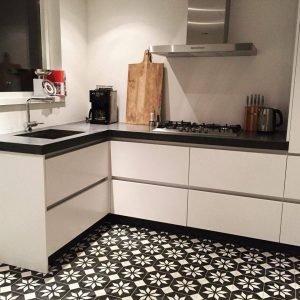 Tegels Voor Keuken.Portugese Tegels Keuken Cementtegels In Je Keuken Als