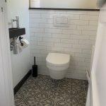Patroontegels in het toilet serie Flowerz zero 02