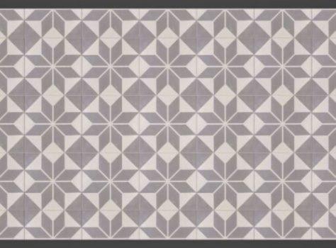 Portugese tegels ster grijs