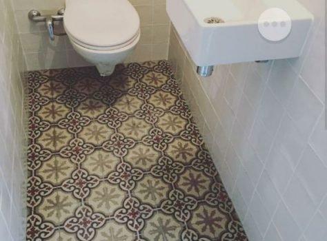 Portugese tegels wc serie FEZ 03