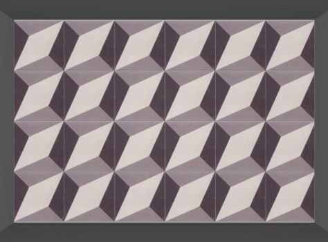 Portugese tegels ESCHER DIAMOND layout 1