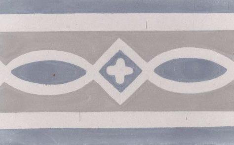 Portugese tegel Border 5 blauw