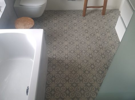 Portugese vloertegel badkamer CLAZ01