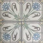 Portugese cementtegel replica
