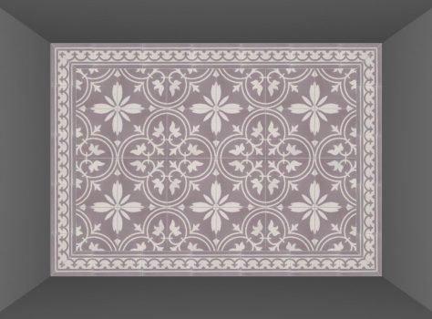 Portugese cementtegels FLORENCE FLOWER 01