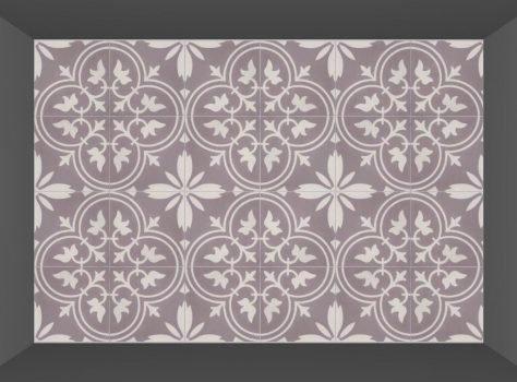 cementtegels Florence Flower 01