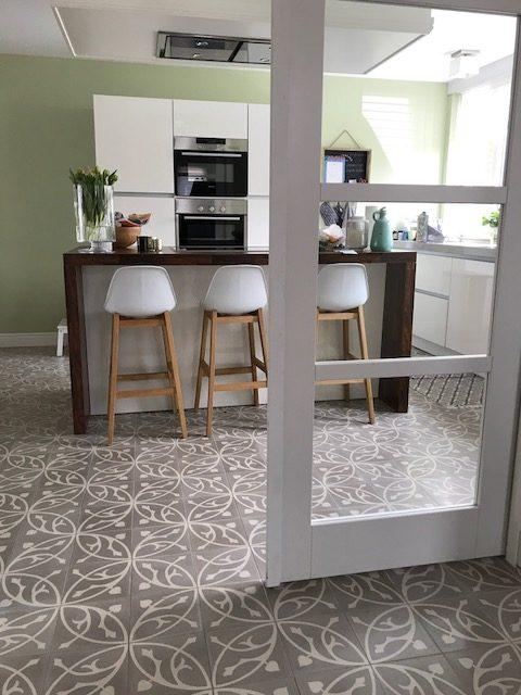Bekend Portugese tegels keuken: serie ORBIZ MG ( Medium Grey ) - Floorz &AA75