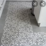 VN Oval Gris Portugese cement tegels keuken ORBIZ MG