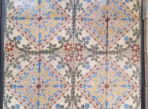 keramische patroontegels
