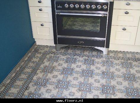 oude vloertegels keuken R4